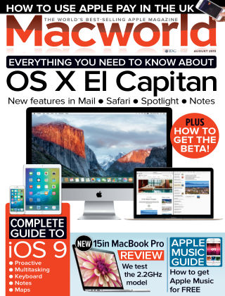 Macworld UK August 2015