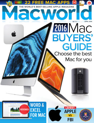 Macworld UK April 2016