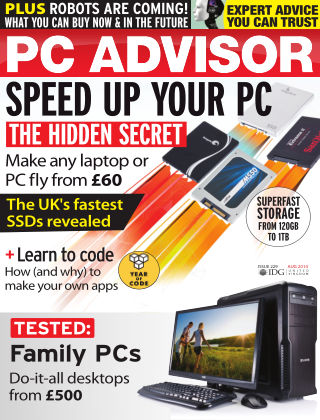 PC Advisor August 2014