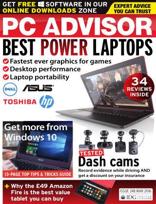 PC Advisor March 2016