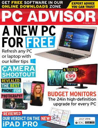 PC Advisor July 2016