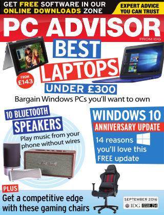 PC Advisor September 2016