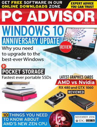 PC Advisor November 2016