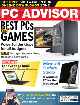 PC Advisor February 2017