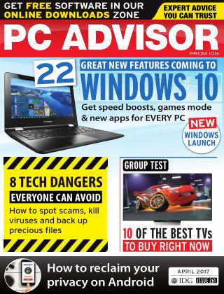 PC Advisor April 2017