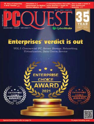 PCQuest August,2021