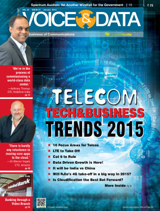 Voice&Data January 2015