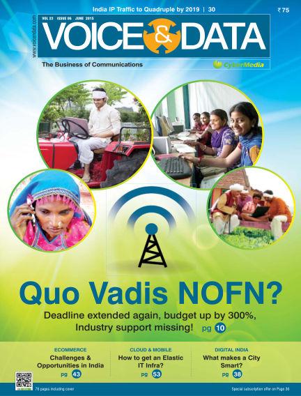 Voice&Data June 05, 2015 00:00