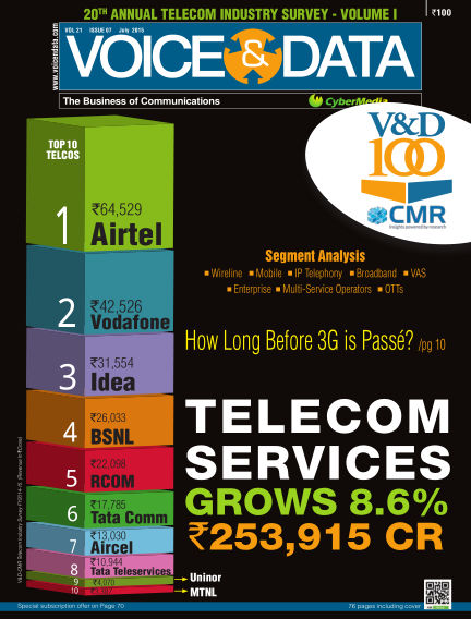 Voice&Data July 14, 2015 00:00