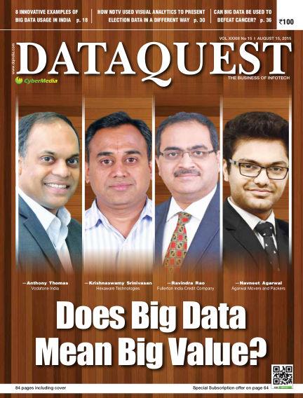 DataQuest August 03, 2015 00:00