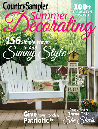 Country Sampler Summer Decorating 17