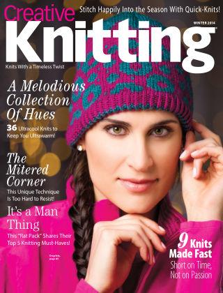 Creative Knitting Winter 2014
