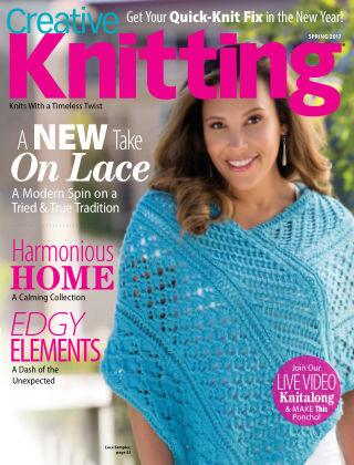 Creative Knitting Spring 2017