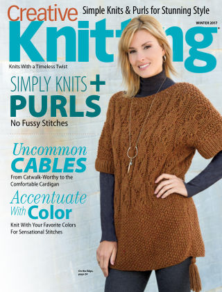 Creative Knitting Winter 2017
