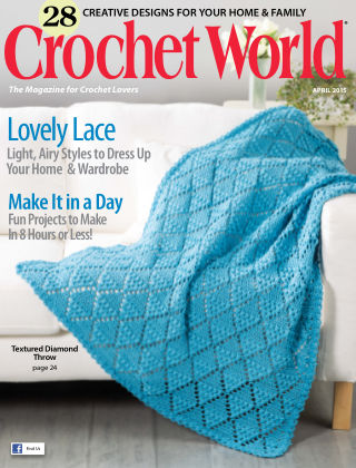 Crochet World April 2015