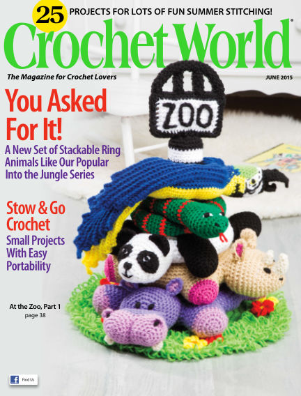 Crochet World April 07, 2015 00:00