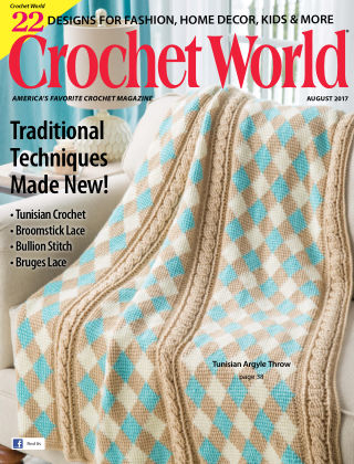 Crochet World Aug 2017