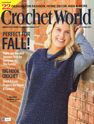 Crochet World Oct 2017