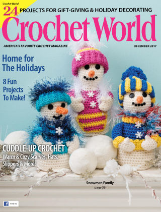 Crochet World Dec 2017