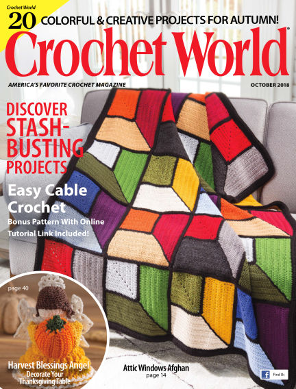 Crochet World August 28, 2018 00:00