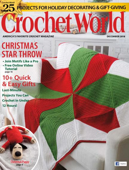 Crochet World October 30, 2018 00:00