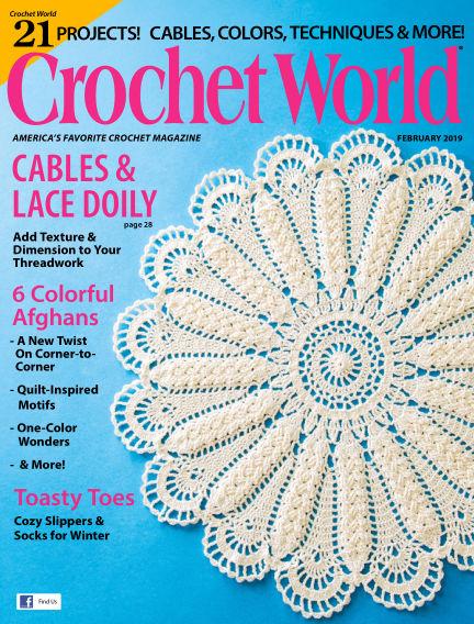 Crochet World December 04, 2018 00:00