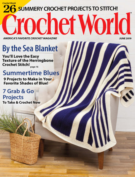 Crochet World April 09, 2019 00:00