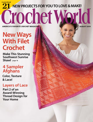 Crochet World Aug 2019