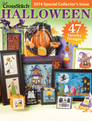 Just CrossStitch Halloween 2014