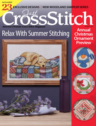 Just CrossStitch Aug 2017