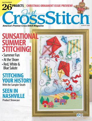 Just CrossStitch August2020