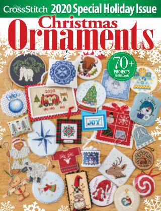 Just CrossStitch Ornaments2020