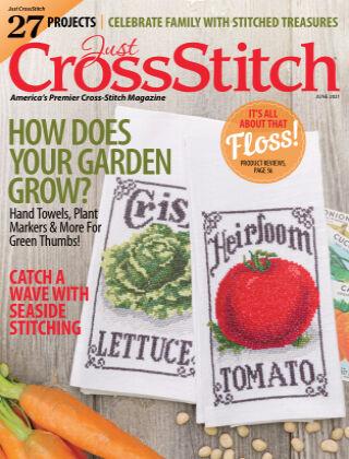 Just CrossStitch June2021