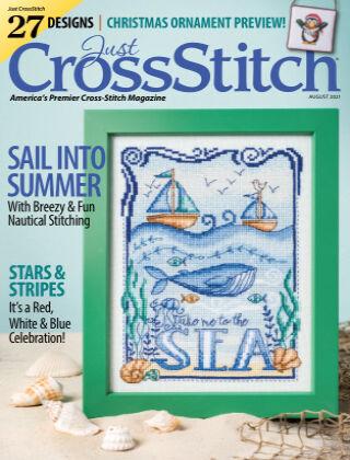 Just CrossStitch August2021