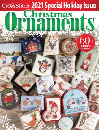 Just CrossStitch Ornaments2021