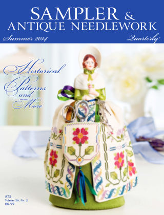 Sampler Antique & Needlework Quarterly Summer 2014