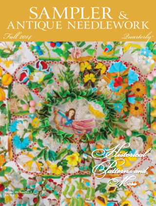 Sampler Antique & Needlework Quarterly Autumn 2014