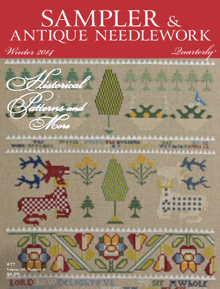 Sampler Antique & Needlework Quarterly Winter 2014