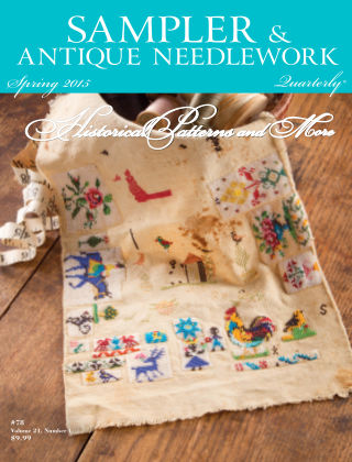 Sampler Antique & Needlework Quarterly Spring 2015