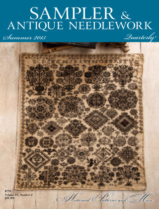Sampler Antique & Needlework Quarterly Summer 2015