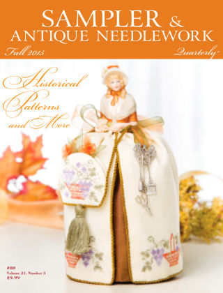 Sampler Antique & Needlework Quarterly Autumn 2015