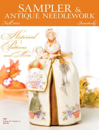 Sampler Antique & Needlework Quarterly Autumn 2015