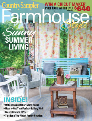 Country Sampler Farmhouse Style Summer 2020