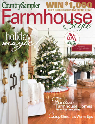 Country Sampler Farmhouse Style Winter2020