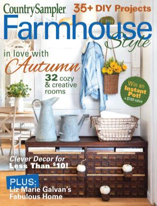 Country Sampler Farmhouse Style Autumn2021