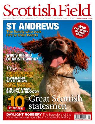 Scottish Field Magazine March 2014