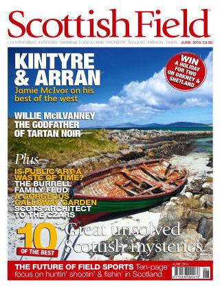Scottish Field Magazine June 2014