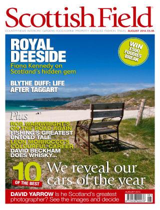 Scottish Field Magazine August 2014