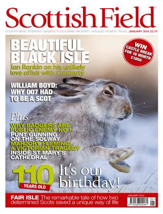 Scottish Field Magazine January 2014