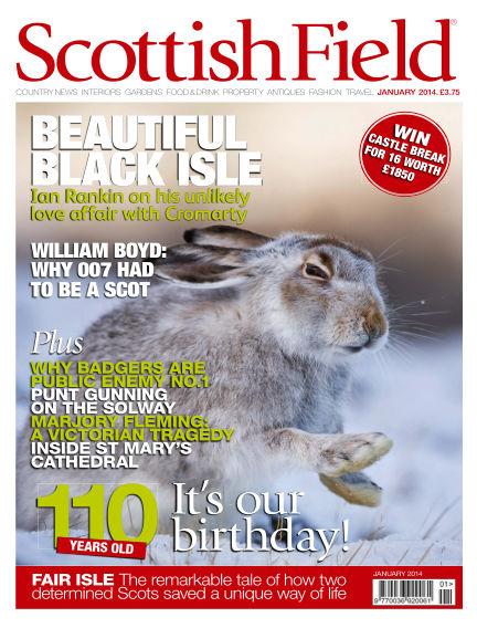 Scottish Field Magazine December 01, 2013 00:00